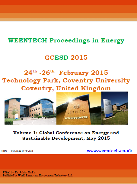 WEENTECH Proceedings in Energy